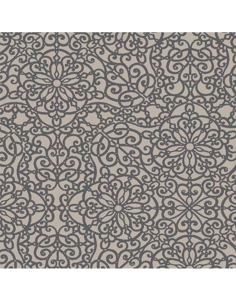 Ткань для рулонных штор САМИРА 2870 коричневый
