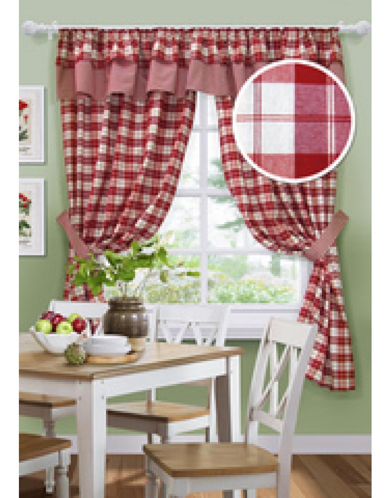 Комплект штор для кухни Chale-S 136х186 см