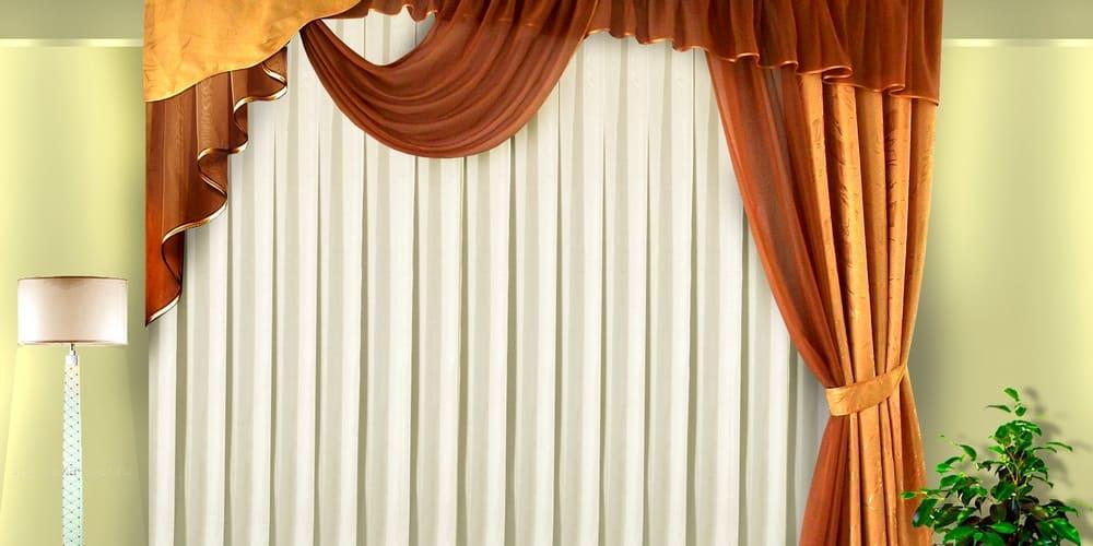 ассиметричные шторы купить