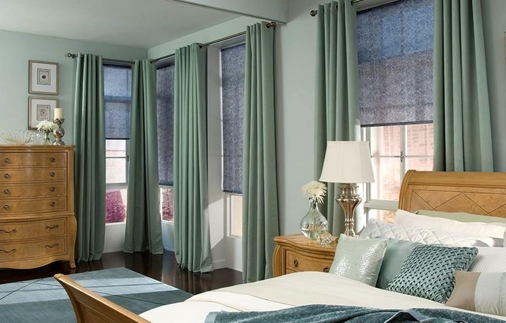 рулонные шторы и портьеры