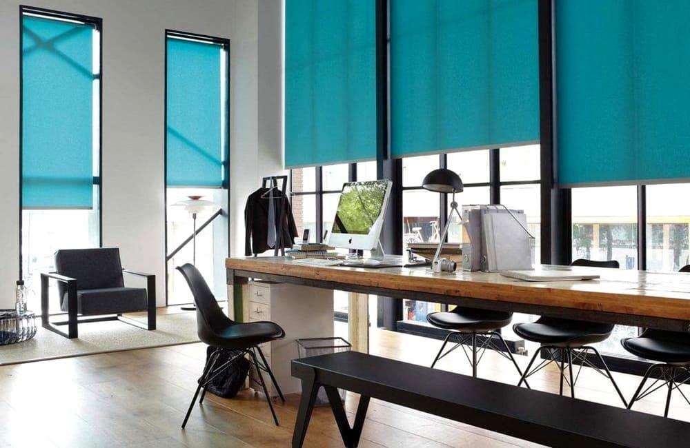 рулонные шторы в офис купить
